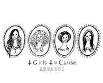 Anna Sui 2009- 4 girls 4 a cause