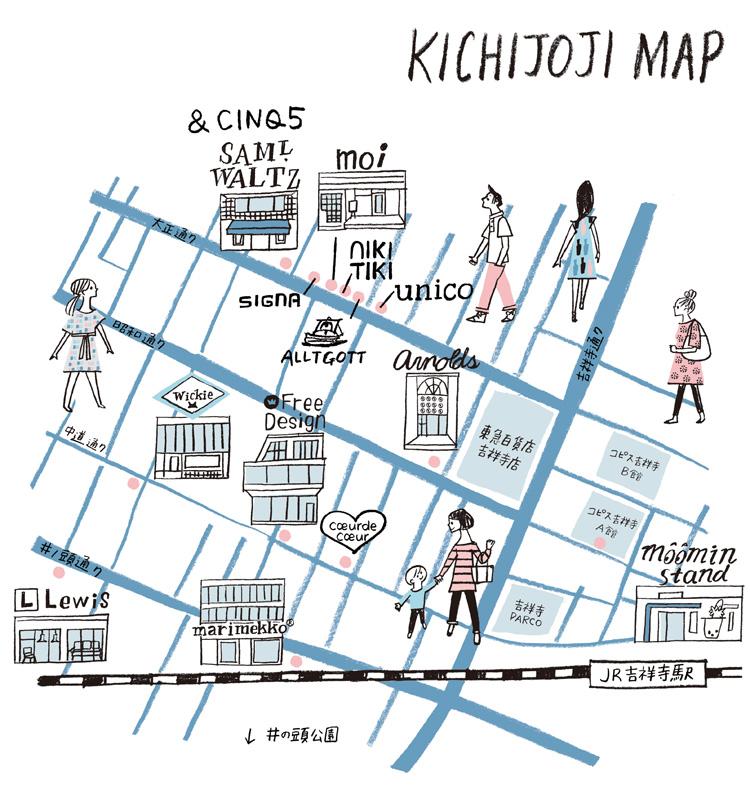 kichijoji_map