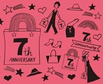 ELLE SHOP 7th anniversary